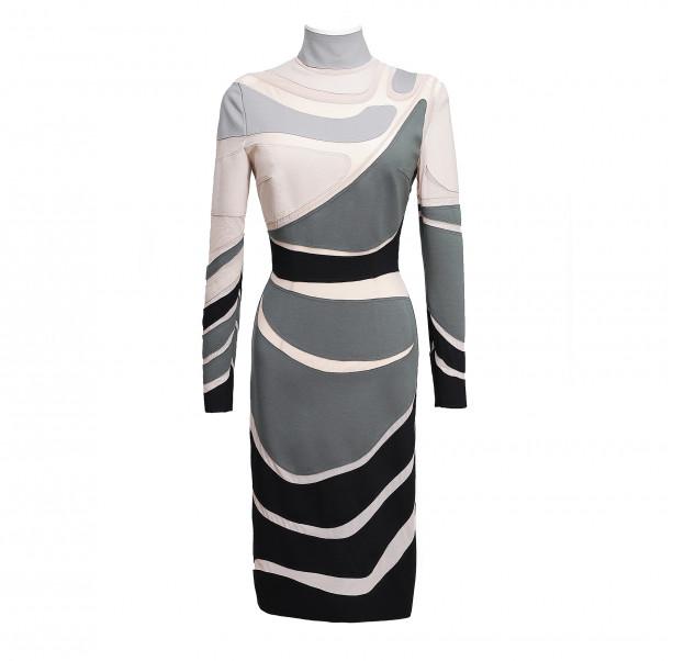 Art nouveau bondage dress - 1