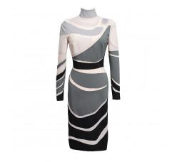 Art nouveau bondage dress