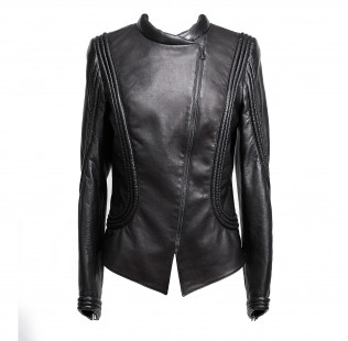 Art Nouveau leather jacket small - 1