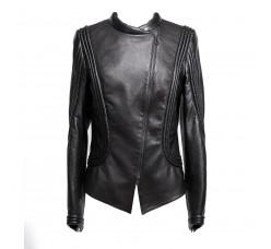 Art Nouveau leather jacket