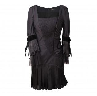 Square neck cotton dress  small - 1