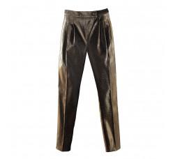 Black gold Pyramid pants