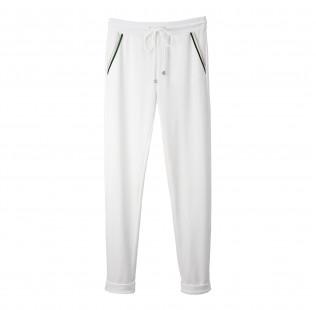 White velvet pants small - 1