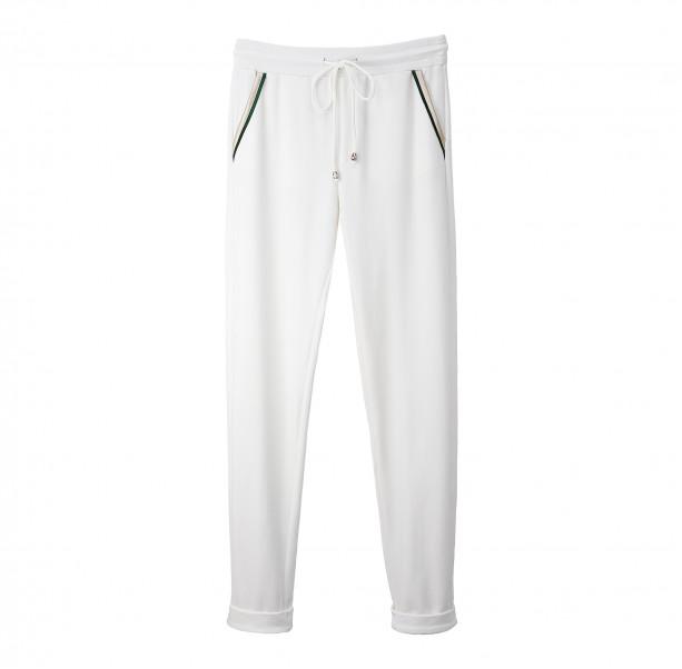 White velvet pants - 1