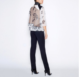 Blouse black pearl small - 3