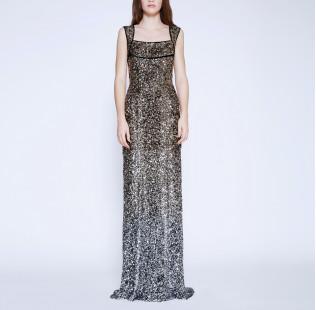 Long evening dress small - 6