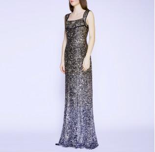 Long evening dress small - 5