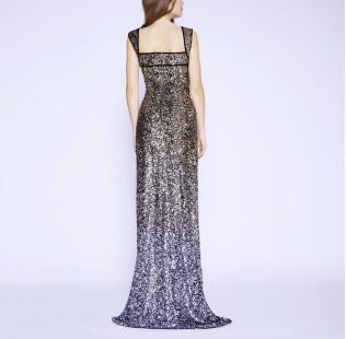 Long evening dress small - 4