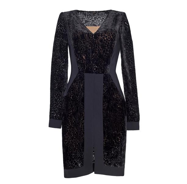 Dress silk devore - 1