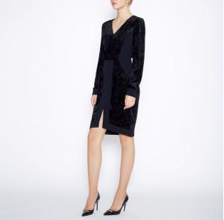 Dress silk devore small - 5