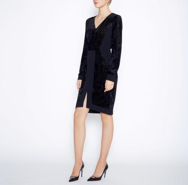 Dress silk devore - 5