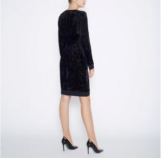 Dress silk devore small - 3