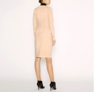 Dress with black collar small - 3