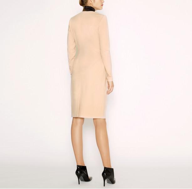 Dress with black collar - 3