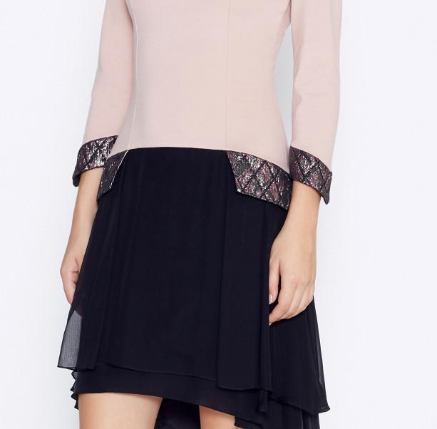 Dress with silk skirt - 2