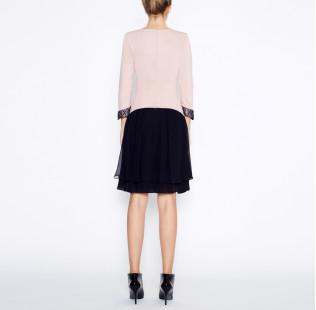 Dress with silk skirt small - 3