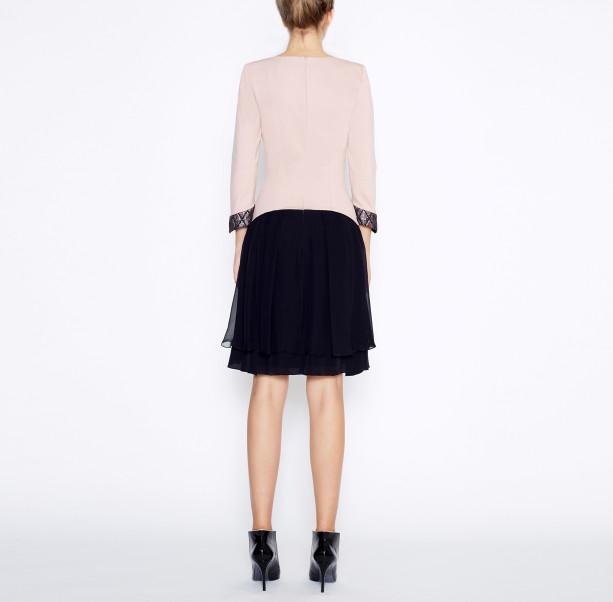 Dress with silk skirt - 3
