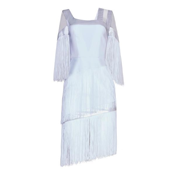 Art Nouveau fringe dress - 1