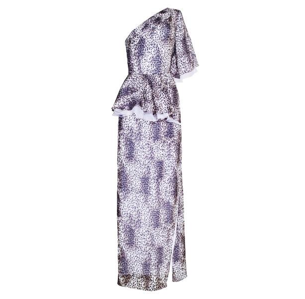 Long leopard dress - 1