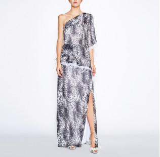 Long leopard dress small - 6