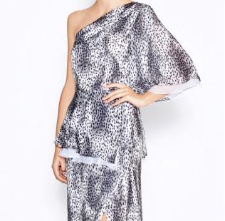 Long leopard dress small - 2