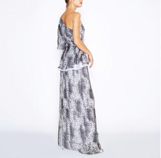 Long leopard dress small - 4
