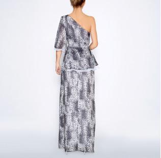 Long leopard dress small - 3