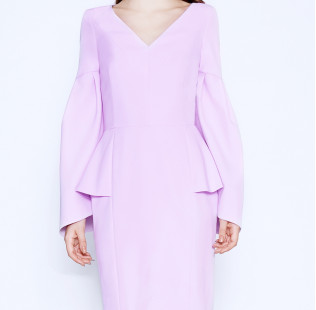 Cold Rose pink dress small - 2