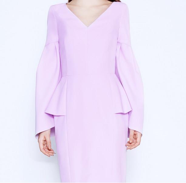 Cold Rose pink dress - 2