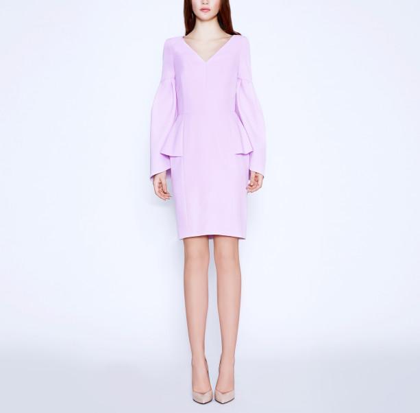 Cold Rose pink dress - 6