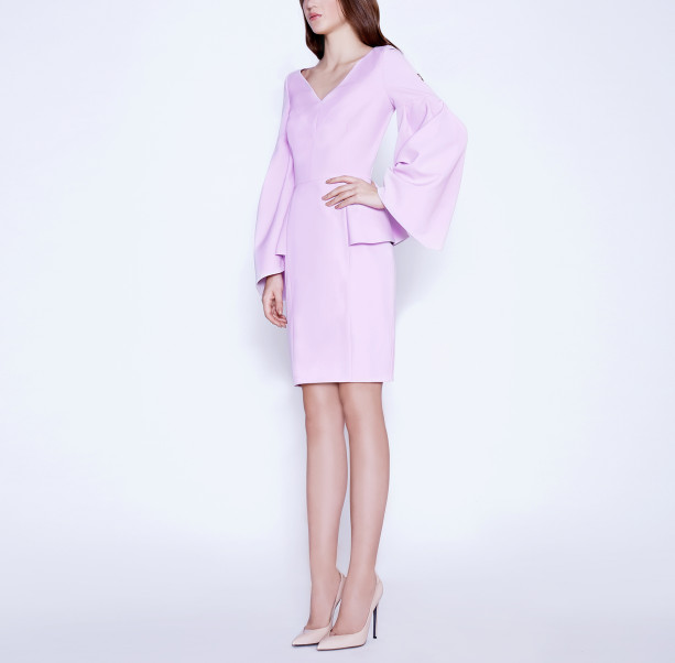 Cold Rose pink dress - 4