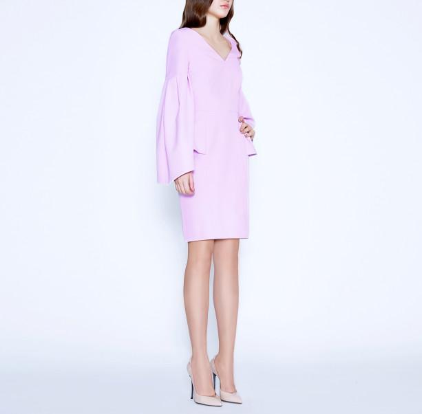 Cold Rose pink dress - 5