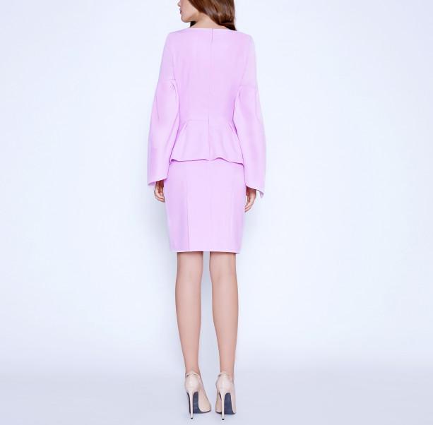 Cold Rose pink dress - 3