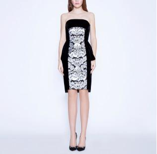 "Dress corset ""Sequins arment"" small - 6"