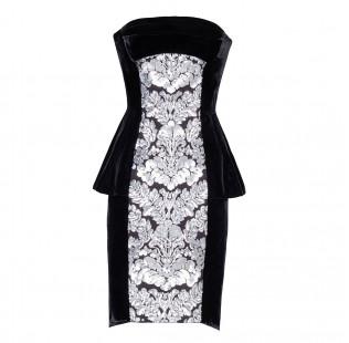 "Dress corset ""Sequins arment"" small - 1"
