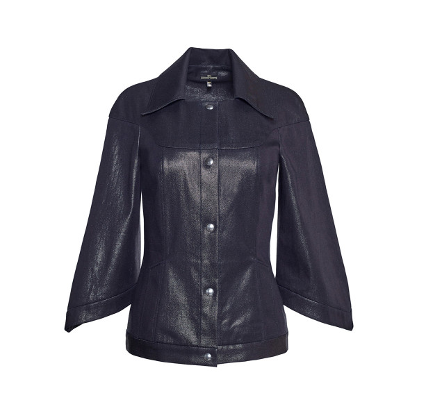 Jacket with glitter - 1