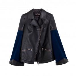 Jean leather jacket..