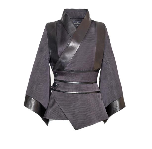 Black kimono jacket - 1