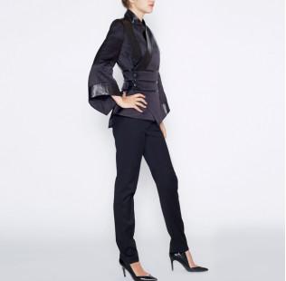 Black kimono jacket small - 4