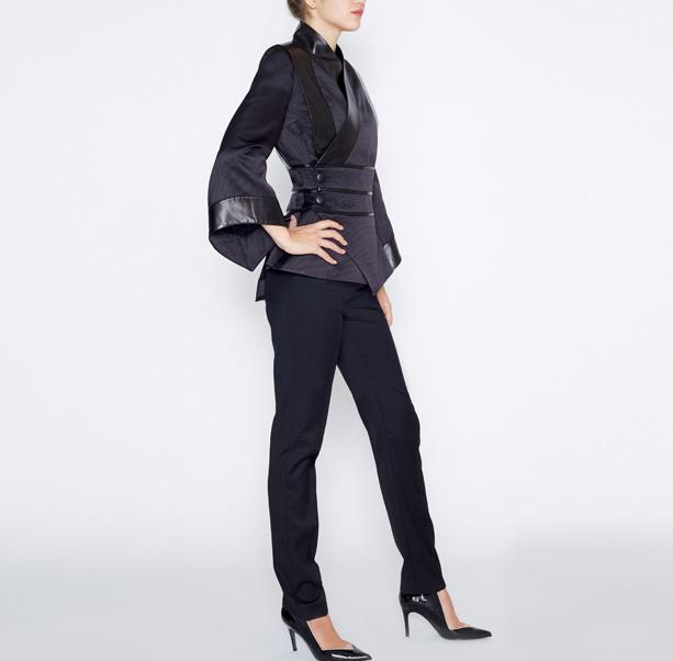 Black kimono jacket - 4