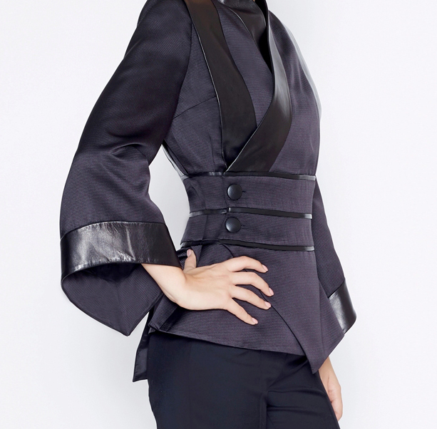 Black kimono jacket - 2
