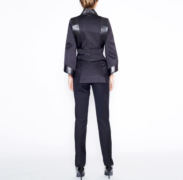 Black kimono jacket - 3