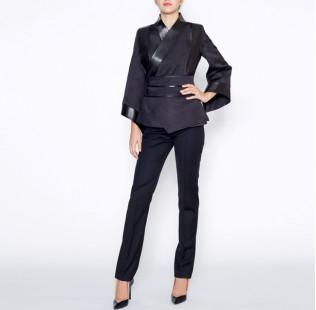 Black kimono jacket small - 5