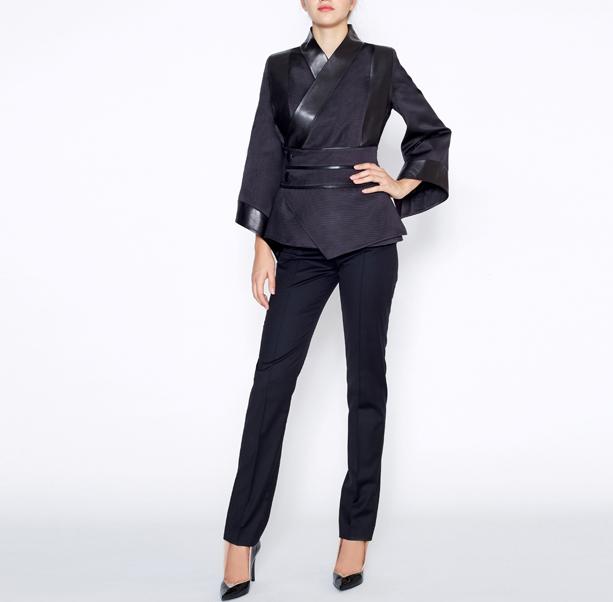 Black kimono jacket - 5
