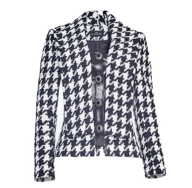 Warm tweed jacket - 1