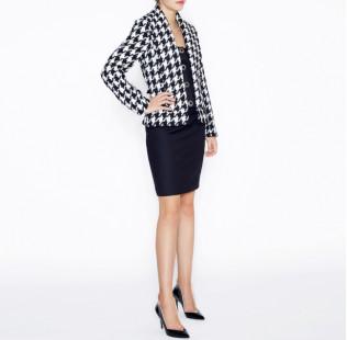 Warm tweed jacket small - 4
