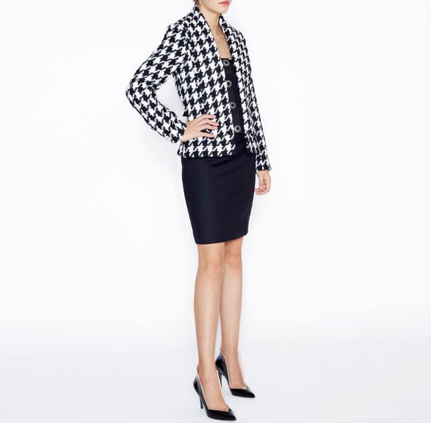 Warm tweed jacket - 4