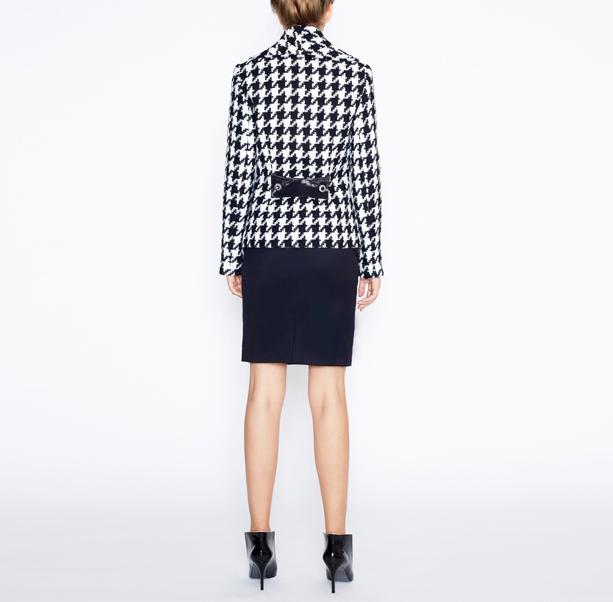 Warm tweed jacket - 3