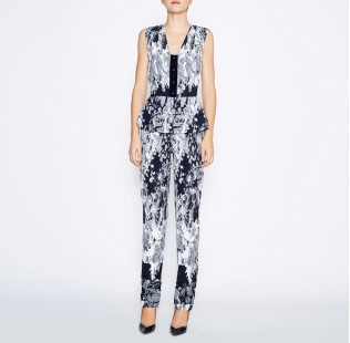 Jumpsuit with peplum small - 6