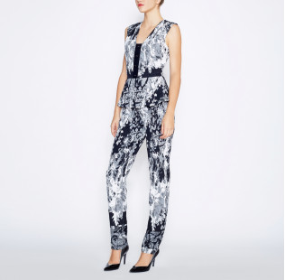 Jumpsuit with peplum small - 5